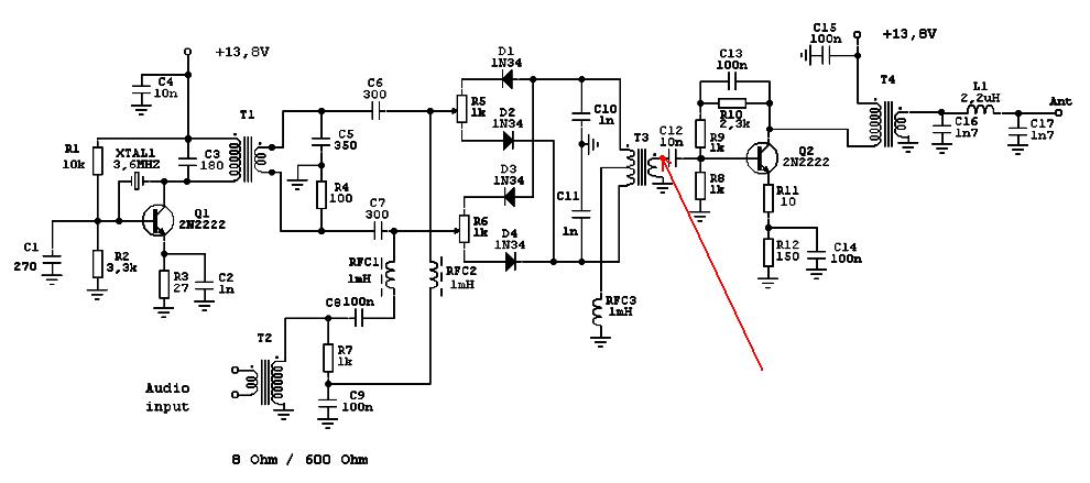 самые простейшие трансиверы QRP