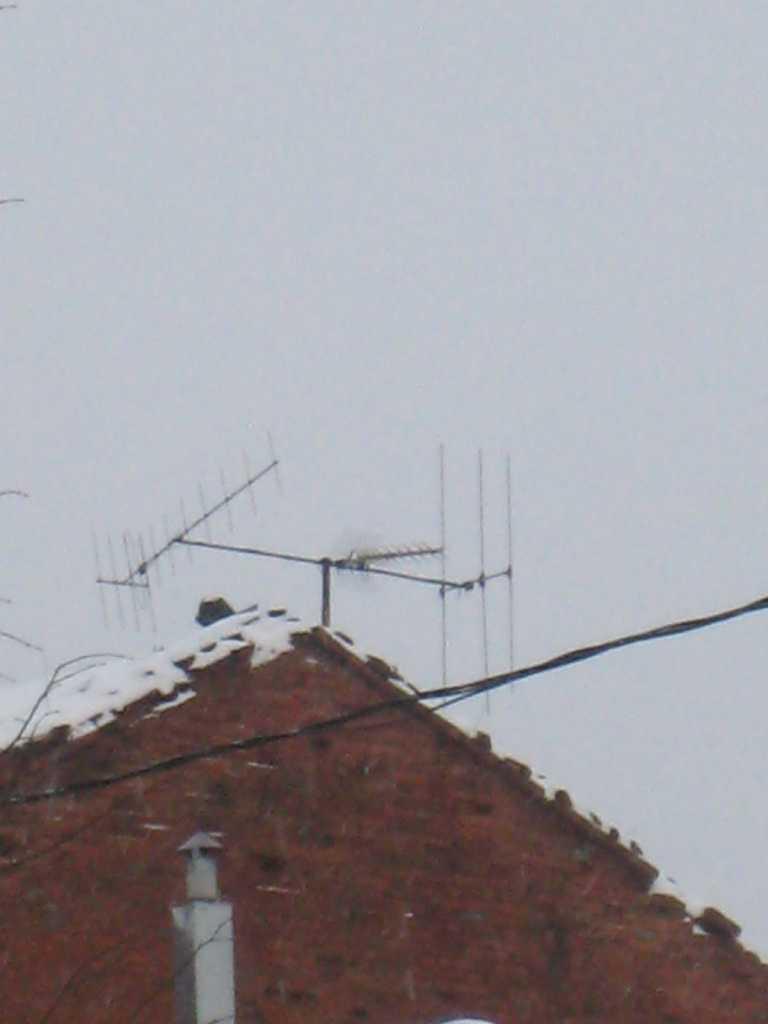 схема и чертежи телевизионных антенн