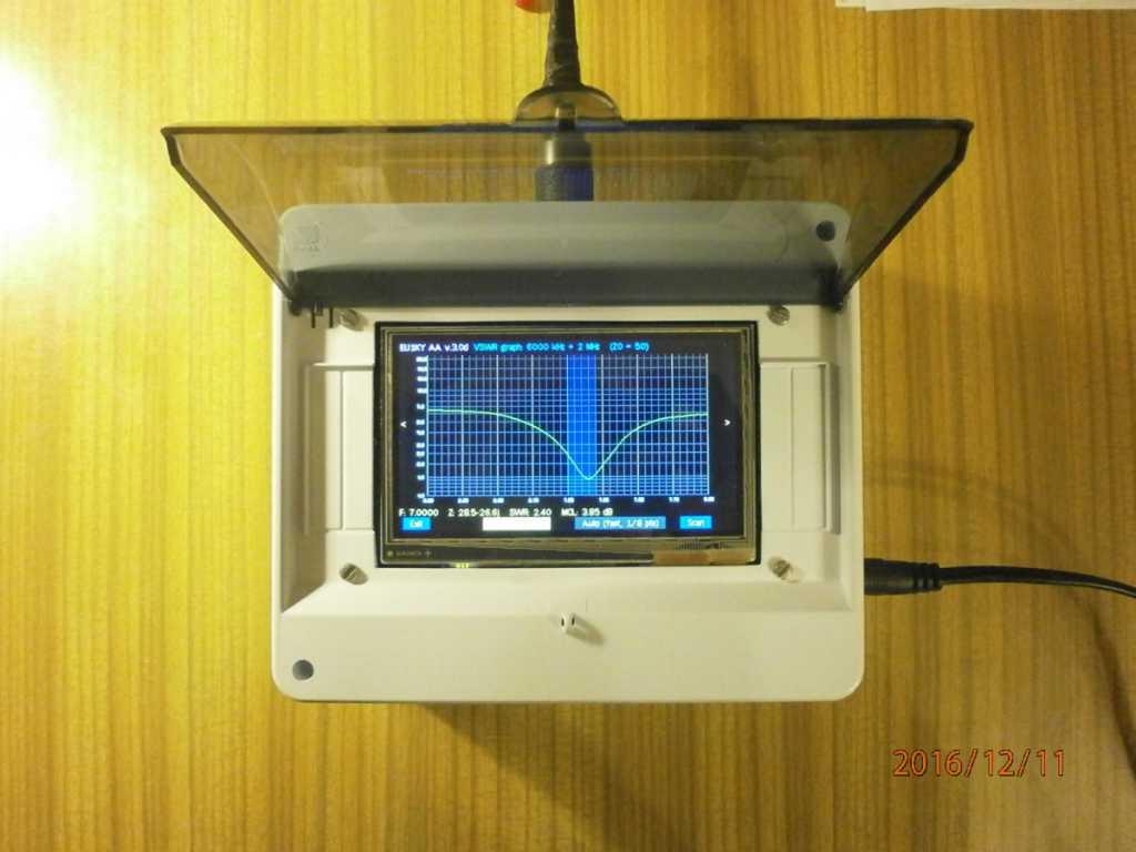 RU-QRP Club forum :: Тема: Графический антенный анализатор